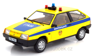 Lada Samara Police yellow/blue 1:18 KK Scale