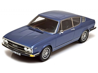Audi 100 Coupe S 1970 blue 1:18 KK Scale