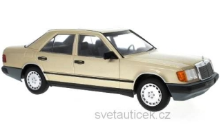 Mercedes 260 E (W124) 1984 light brown metallic 1:18 MCG Modelcar Group