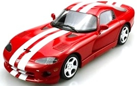 Dodge Viper GTS 1996-2002 red 1:18 LS Collectibles