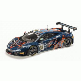 McLaren MP4-12C GT3 #88 24h Spa 2013 Von Ryan Racing 1:18 Minichamps