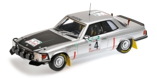 Mercedes Benz 450 SLC 5.0 Waldegard Bandama Rally 1979 1:18 Minichamps