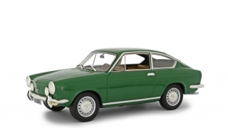 Fiat 850 Sport Coupe 1968 green 1:18 Laudoracing Model