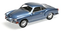 Volkswagen Karmann Ghia Coupe 1970 blue 1:18 Minichamps