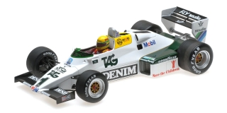 Williams Ford FW08C Ayrton Senna Donington Park Test 1983 1:18 Minichamps