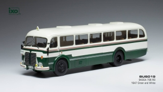 Škoda 706 RO green/white 1:43 Ixo Models