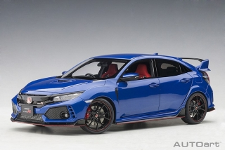 Honda Civic Type R FK8 brilliant sporty blue metallic 1:18 AUTOart