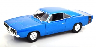 Dodge Charger R/T 1969 blue 1:18 Maisto