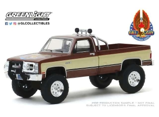 GMC K-2500 Sierra Grande Wideside *Fall Guy Stuntman Association* 1:18 Greenlight