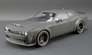 Dodge Challenger SRT Demon 2018 destroyer grey 1:18 GT Spirit