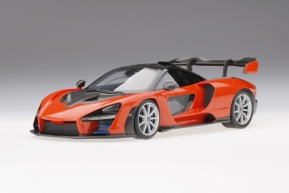 McLaren Senna Mira Orange 1:18 TopSpeed Models