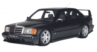 Mercedes-Benz 190E EVO 2 1990 black 1:18 Solido