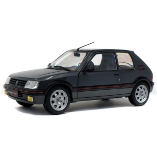 Peugeot 205 GTI Phase 2 Gris Magnum 1990 grey 1:18 Solido