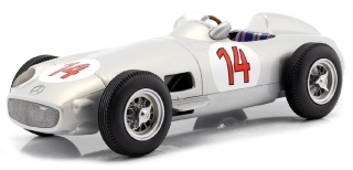 Mercedes-Benz W196 #14 S.Moss 2nd Belgian GP 1955 1:18 iScale