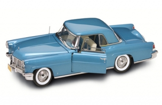 Lincoln Continental Mark II 1956 blue 1:18 Lucky Diecast