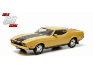 Ford Mustang Mach 1 *Eleanor Gone in 60 seconds 1974* 1971 yellow 1:18 Greenlight