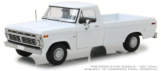 Ford F-100 1973 white 1:18 Greenlight