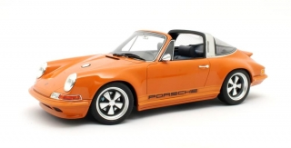 Porsche 911 Targa Spider Singer 1967 orange metallic 1:18 Cult Scale Models