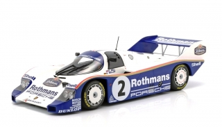 Porsche 956K #2 Winner 1000KM Sandown Park 1984 Bellof/Bell 1:18 Minichamps
