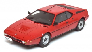 BMW M1 1978 red 1:12 KK Scale
