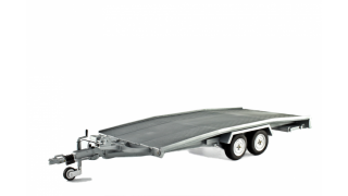 Car transporter Trailer 1:18 Laudoracing Model