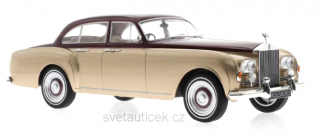 Rolls Royce Silver Cloud III Flying Track H.J.Mulliner 1965 red metallic/gold metallic 1:18 MCG Modelcar Group