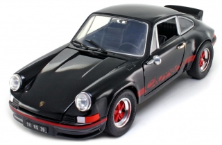 Porsche 911 Carrera RS 1973 black 1:18 Welly