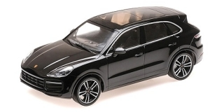 Porsche Cayenne Turbo S 2017 black 1:18 Minichamps
