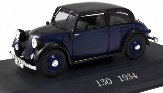 Mercedes Benz 130 W23 1934 blue, black 1:43 Altaya