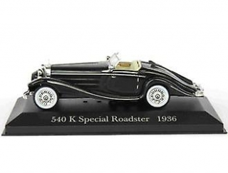 Mercedes Benz 540K Special Roadster 1936 black 1:43 Altaya