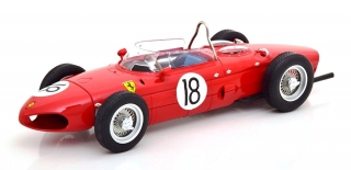Ferrari Dino 156 Sharknose #18 Richie Ginther French GP F1 1961 1:18 CMR