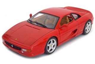 Ferrari F355 Berlinetta 1994 red 1:18 HotWheels
