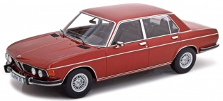 BMW 3.0S E3 MKII 1971 red-brown metallic 1:18 KK Scale
