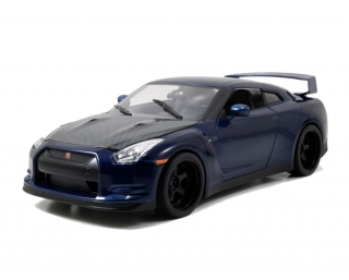 Nissan GT-R *Fast and Furious 7* 2009 blue 1:18 Jada Toys