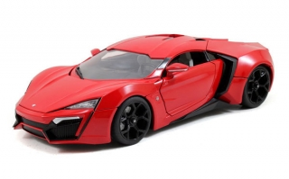 Lykan Hypersport *Fast and Furious 7* 2014 red 1:18 Jada Toys