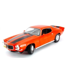 Chevrolet Camaro Z/28 Coupe 1971 orange 1:18 Maisto