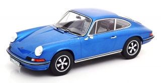 Porsche 911S 2.4 Coupe 1973 blue metallic 1:18 Norev