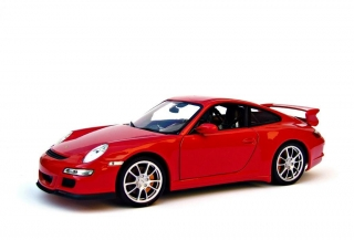 Porsche 911 GT3 (997) 2008 red 1:18 Welly