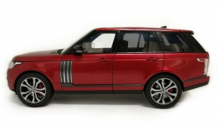 Land Rover Range SV Autobiography Dynamic 2017 red 1:18 LCD Model