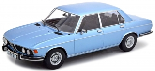 BMW 3.0S E3 MKII 1971 light blue metallic 1:18 KK Scale