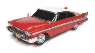 Plymouth Fury *Christine* 1958 red with white roof 1:18 Auto World