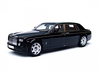 Rolls Royce Phantom Extended Wheelbase Series I diamond black 1:18 Kyosho