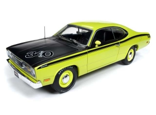 Plymouth Duster Hardtop MCACN 1971 yellow 1:18 Auto World