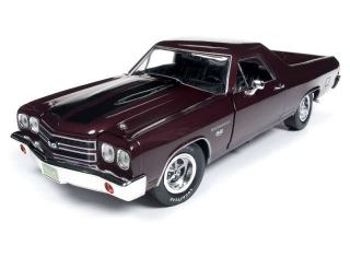 Chevrolet El Camino Car Truck *100th Anniversary* 1970 black/cherry 1:18 Auto World