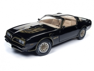 Pontiac Trans Am 1977 black 1:18 Auto World