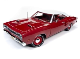 Dodge Super Bee 1969 R6 red 1:18 Auto World