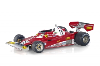 Ferrari F1 312 T2 #11 Niki Lauda Winner GP Dutch Zandvoort World Champion 1977 1:18 GP Replicas