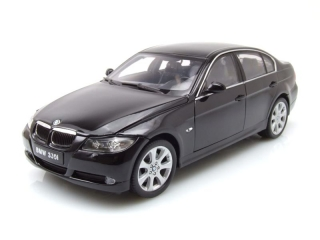 BMW 330i 2006 black 1:18 Welly