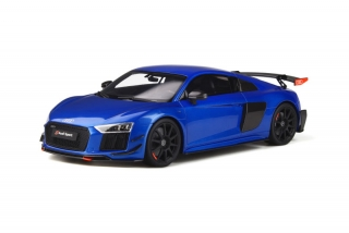 Audi R8 Performance Parts Ara blue 1:18 GT Spirit