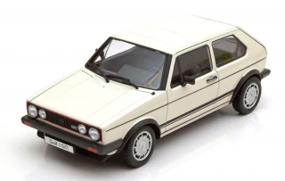 Volkswagen Golf I GTi white 1:18 Welly